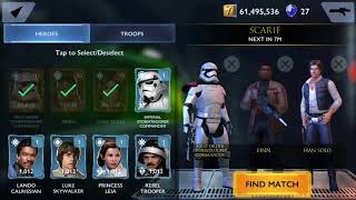 Disney Star Wars Rivals Android Gameplay#2| 12/09/18 |
