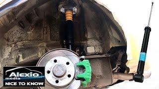 🔧Skoda Fabia 6Y /Polo 9N / Ibiza / Stoßdämpfer hinten tauschen - How to Replace rear Shocks