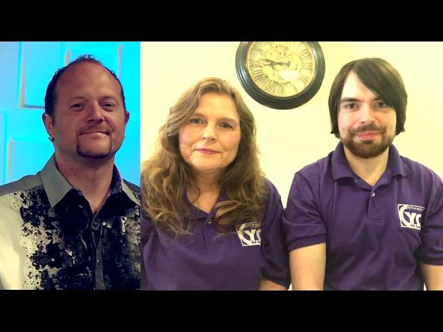 جدران CYFORDABLE: ما قبل NAB عرض فيديو مقابلة.