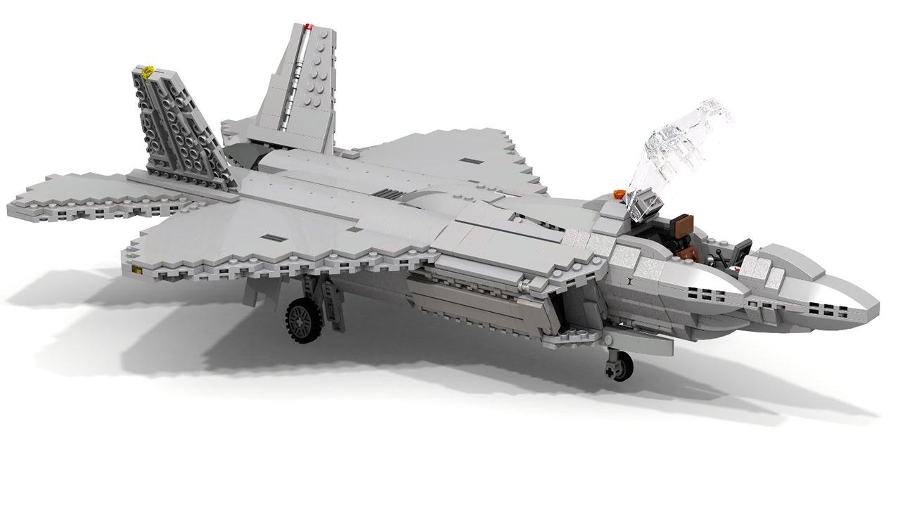 Movecraft Minecraft F 22 Fighter Jet