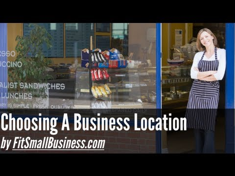 How To Choose A Location For A Store or Restaurant