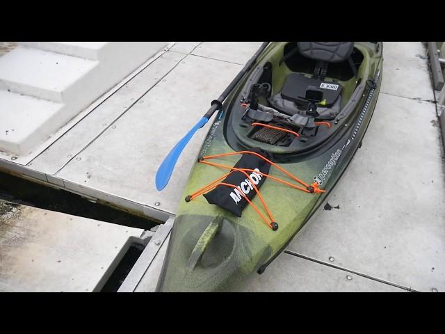 Perception Fishing Kayak Setup and Review