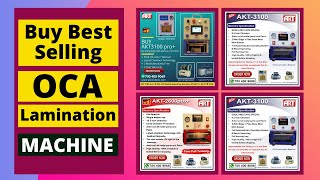 Full Manual Of Basic Baba 2100 Oca Lamination machine.world No.1 Oca Free Full Training