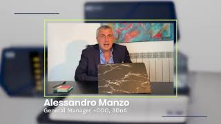 Alessandro Manzo – General Manager -COO, 3DnA