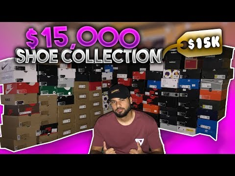 MY 15000$ SNEAKER COLLECTION!!! 2019