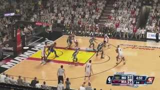 NBA 2K14 ( Xbox One ) Miami Heat vs. Pacers - Game 1