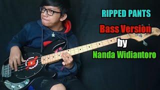Download Mp3 Spongebob Squarepants - Ripped Pants  Bass Version By Nanda Widiantoro  Bass Cov
