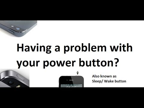 iPhone 5 Sleep/ Wake button ( power button) FIX- Free fix by Apple