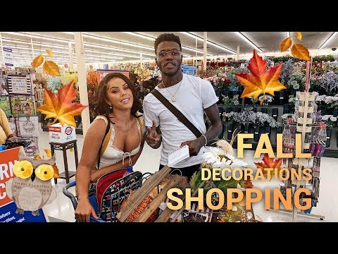 FALL Decorations SHOPPING!