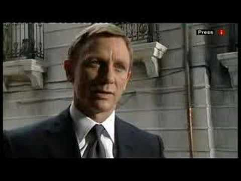 James Bond 2008 Daniel Craig // 007 quantum of solace new movie