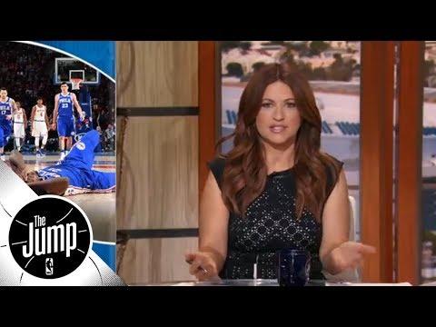 Rachel Nichols: Joel Embiid injury feels 'fundamentally unfair'  The Jump  ESPN