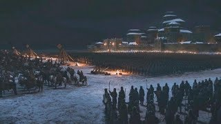 White Walkers Vs Wintęrfell | Game of Thrones (HBO)