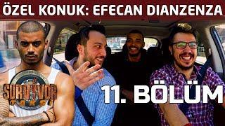 Efecan'dan Semih Öztürk ile yaşadığı problemle ilgili bomba yorum! | 11. Bölüm | Survivor Taksi