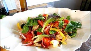 Mackerel Salad Recipe From Summer  | Chef Ricardo Cooking