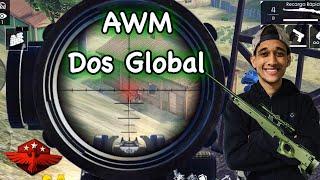JOGUEI DE AWM NO SQUAD DOS TOP GLOBAL !