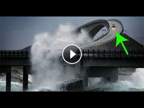 Pont crooked la route - Vers dans les cerises dangereux ...