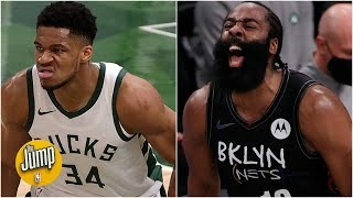 Will the Giannis-Harden beef carry over to the Bucks vs. Nets series?
