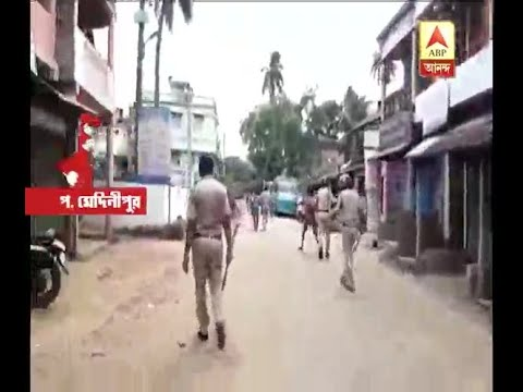 Police-public clash in Banshpur, West...