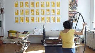 California artist prints her activism
