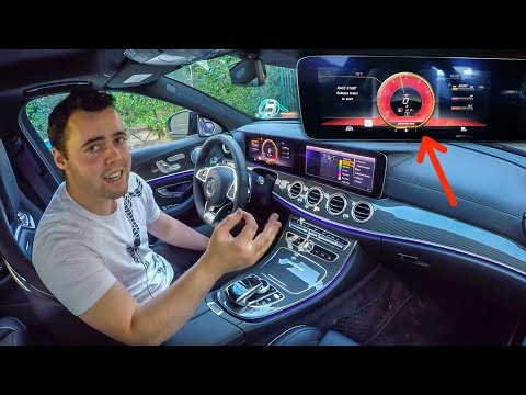 5 INSANE FEATURES OF THE $140,000 MERCEDES AMG E63S!