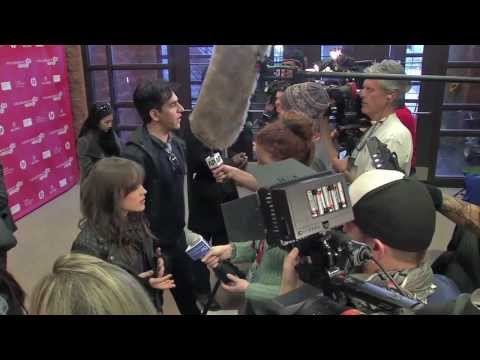 """Footage of the stars of """"The East"""" on the red carpet at the Sundance Film Festival."""