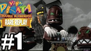 Rare Replay : Viva Pinata Trouble in Paradise - Gameplay Walkthrough Part 1 [ HD ]