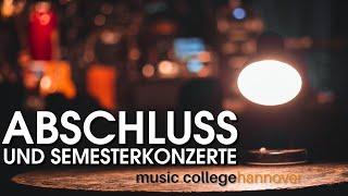 Till the End   Abschluss- und Semesterkonzerte des Music Colleges Hannover 2021