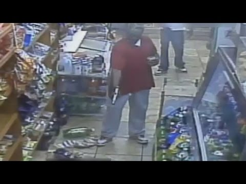 Caught on Camera: Man repeatedly shot in NYC grocery shop