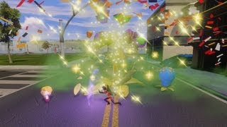 Disney Infinity - Gameplay Violet Cleans The City