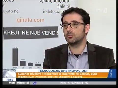 Gjirafa.com & Zhvillimi I Ekonomisë Nëpërmjet Zhvillimit Të TIK
