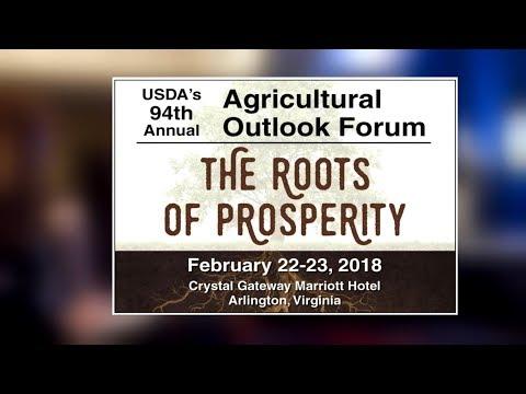 USDA Deputy Secretary Promotes 2018 Agricultural Outlook Forum