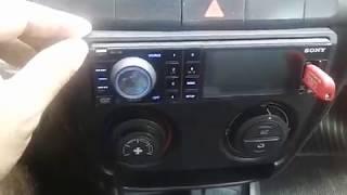 DVD SONY MEX V30 COMO TROCAR  PASTA MP3