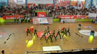 Dance Performance by Santa Laurensia High School - DBL Final Party 2016 (first place)