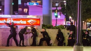 1 officer killed, 3 injured when shots fired during downtown Dallas Shooting: police