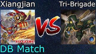Xiangjian Tenyi Vs Tri-Brigade Zoodiac DB Match Yu-Gi-Oh! 2021