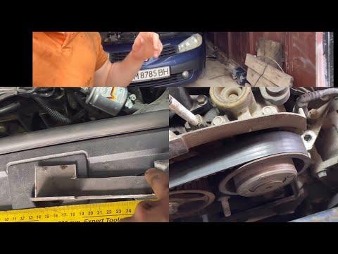 Замена ремня ГРМ  Renault Megane 2 1.6/1.4 16v K4M