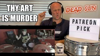 Drum Teacher Reacts | THY ART IS MURDER - Dead Sun DRUM PLAY THROUGH | (2020 Reaction)