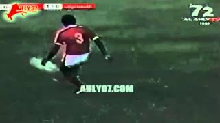هدف الأهلي الأول مقابل 0 الإسماعيلي شريف عبد المنعم  الأسبوع 24 الدوري 27 إبريل 1982