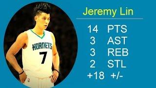 Jeremy Lin Highlights 2015 11 23 Charlotte Hornets vs Sacramento Kings