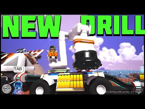 New Drill UPDDATE 215 !! Lets Play Astroneer Gameplay Z1 Gaming