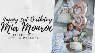 HAPPY 3RD BIRTHDAY MIA MONROE
