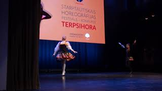 00001 Starptautiskajā horeogrāfijas konkursā-festivālā
