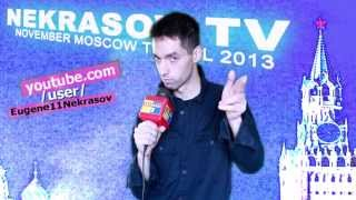 заставка шоу NEKRASOV TV november Moscow travel 2013 (из Екатеринбурга в Москву)