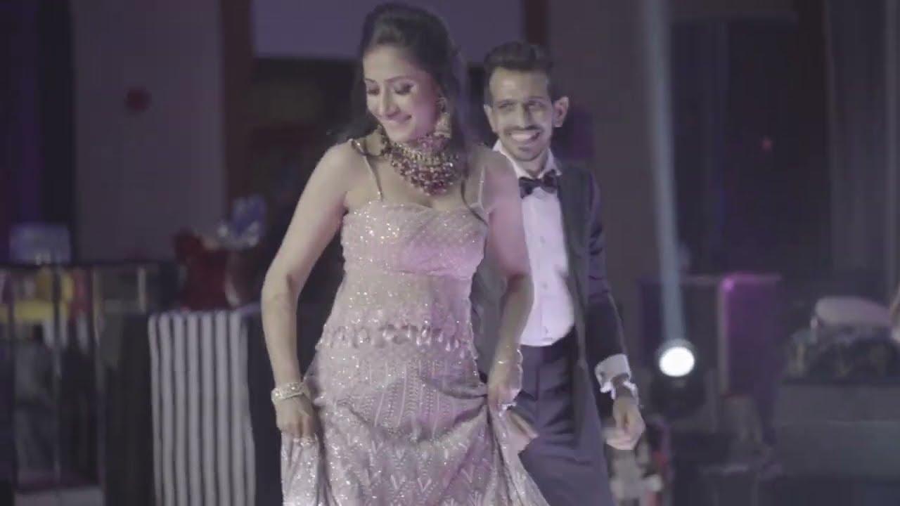 Yuzvendra & Dhanashree 90's special Dance Performance