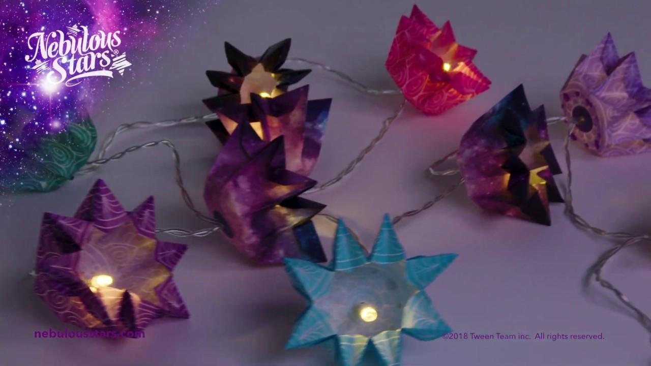 NEBULOUS STARS® Origami Lanterns #11020 - STEP BY STEP video instructions