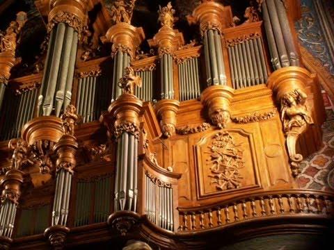 Michel Chapuis inaugure l'orgue d'Albi en Octobre 1981