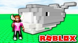 👷 we build a whale! 👷-English Roblox Building Simulator EP1
