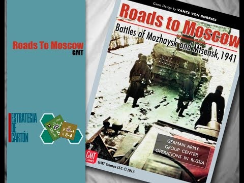 1.- Roads To Moscow - El Juego