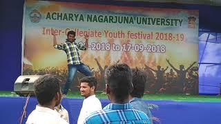 Dance performance in anu