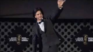 Shahrukh Khan in  Morocco meets fans at international du film de Marrakech 2011